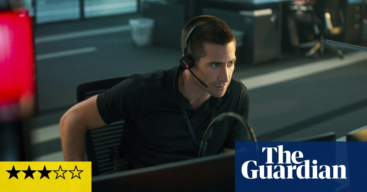 The Guilty review – Jake Gyllenhaal's tense 911 call thriller
