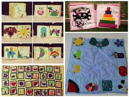 A selection of Marija Rajovic's toys