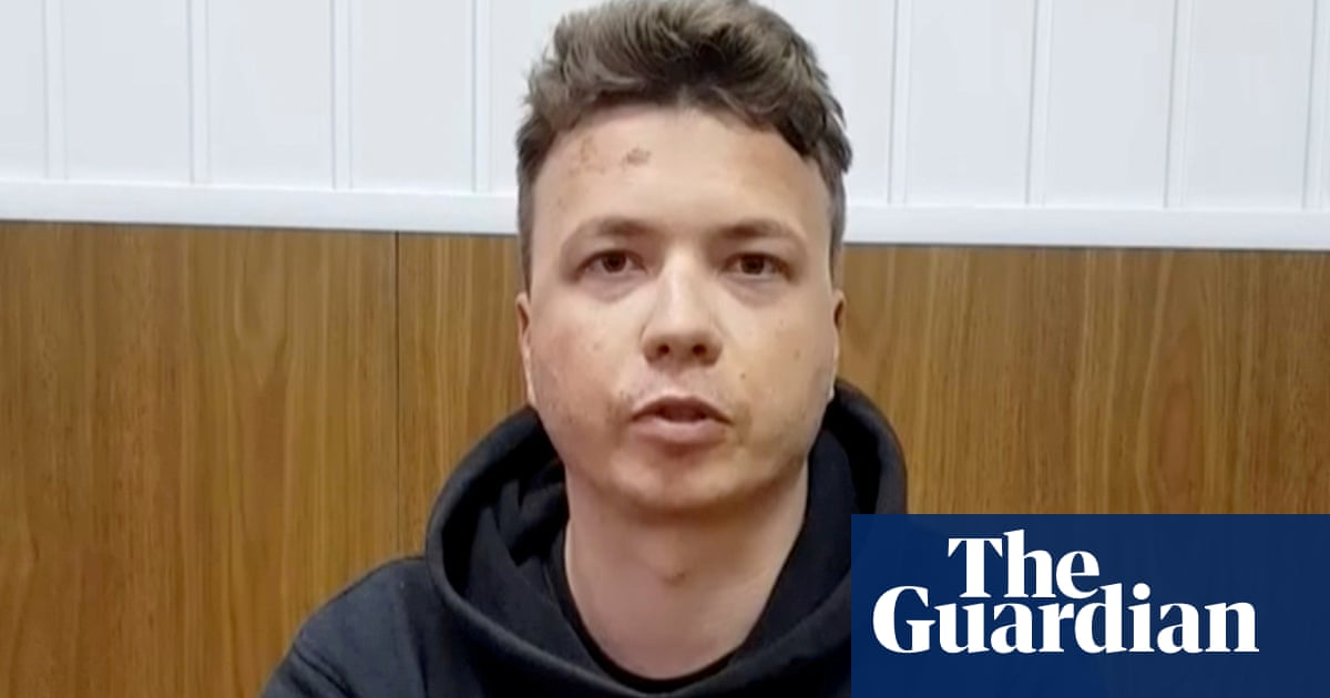 Belarus airs more footage of detained activist as family call it 'hostage' video