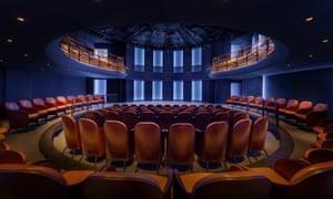 The Boulevard Theatre auditorium, Soho, London.
