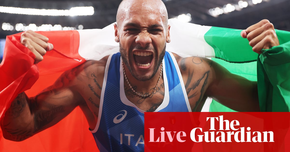 Tokyo 2020 Olympics: Jacobs wins men's 100m, GB golds and more – live!