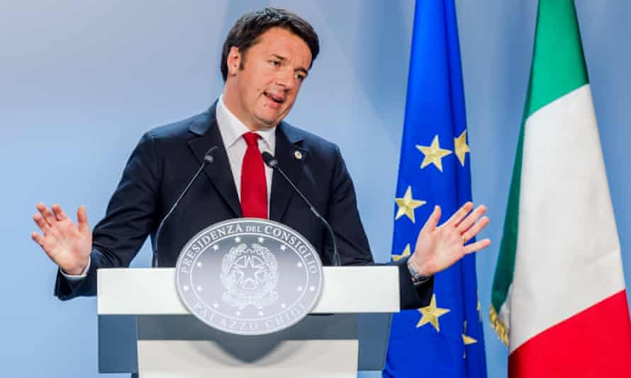 Matteo Renzi, Italian PM. Some critics had dismissed Maria Elena Boschi as too inexperienced to be considered a serious force in his cabinet.