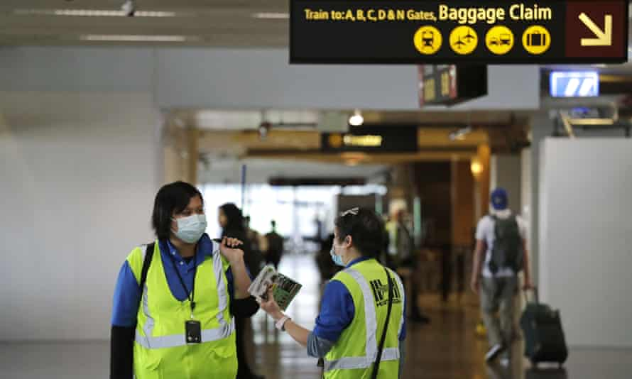Many low-wage workers, such as airport workers, are on the frontlines of the coronavirus outbreak, yet are left unprotected from contracting the virus.