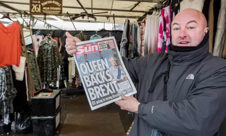 'If she wants to get out, I'm with the Queen, so let's go!'