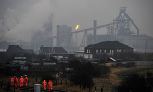 The steelworks in 2009