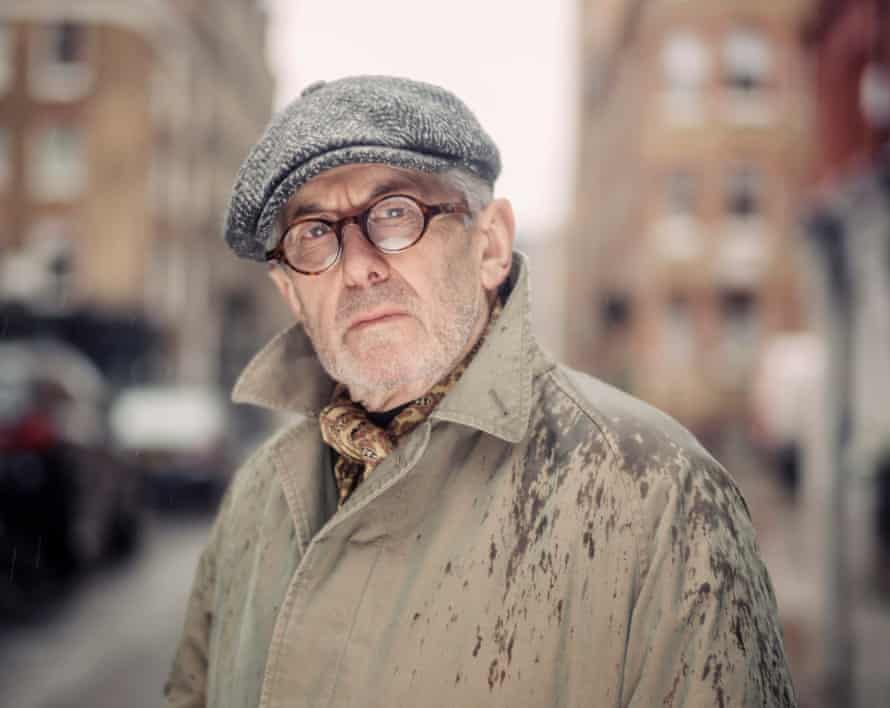 'I have done some unique things' … John Simons, subject of a new film, near one of his shops on Chiltern Street.