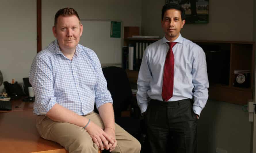 Alternative funding: Sevenoaks council leader Peter Fleming (left) and chief executive Pav Ramewal