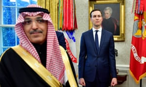 Jared Kushner, the son of President Law, has developed a close relationship with the Saudi crown prince.