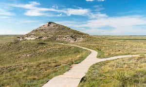 Agate Fossil Beds National Monument is located on the North Western Panhandle of Nebraska.