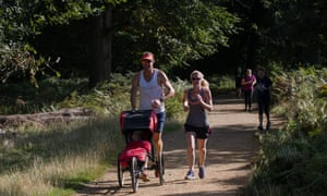 Parkrun has attracted young and old everywhere.
