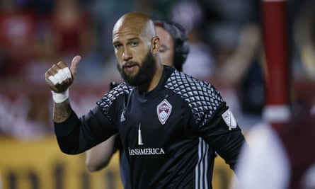 Tim Howard: 'We have to try and get better each and every year. Maybe there's a league in Europe where we can say: we want to be better than this league or that league.'