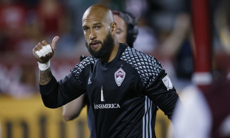 Tim Howard ends a career of individual brilliance but not much team glory