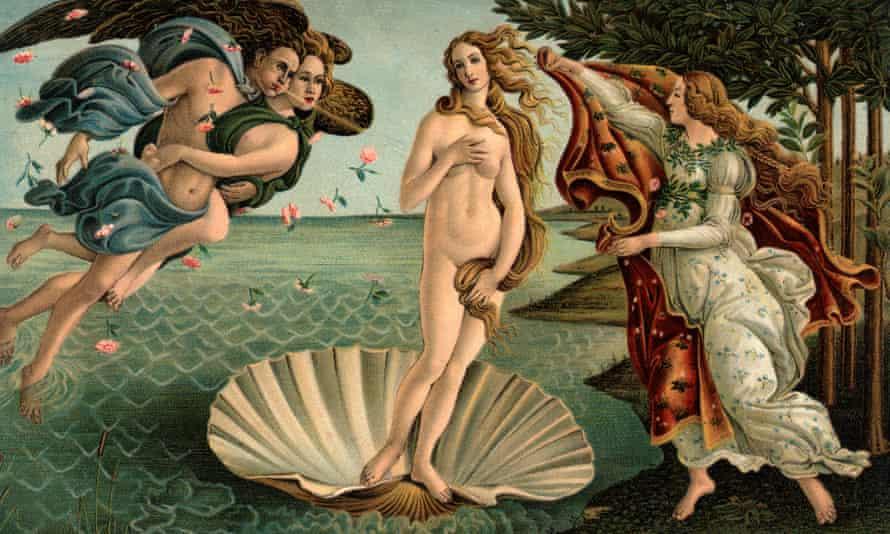 The Birth of Venus, Sandro Botticelli.