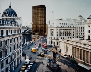 How Mies van der Rohe's Mansion House Square development would have looked next to the Bank of England.