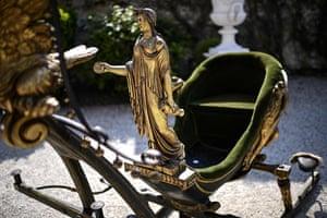 A sledge belonging to Empress Josephine