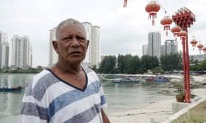 Mohd-Ishak, the chief of Tanjung Tokong, Penang