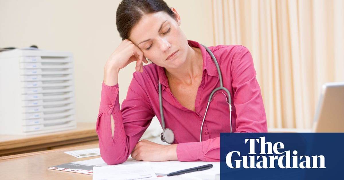 NHS staff are reaching the end of their tether