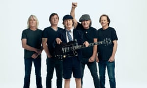 AC/DC, who are about to release a new album, Power Up