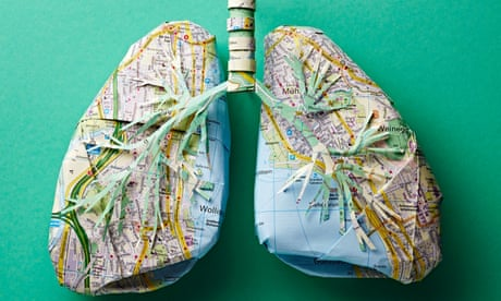 Mapping the human body through paper art – in pictures