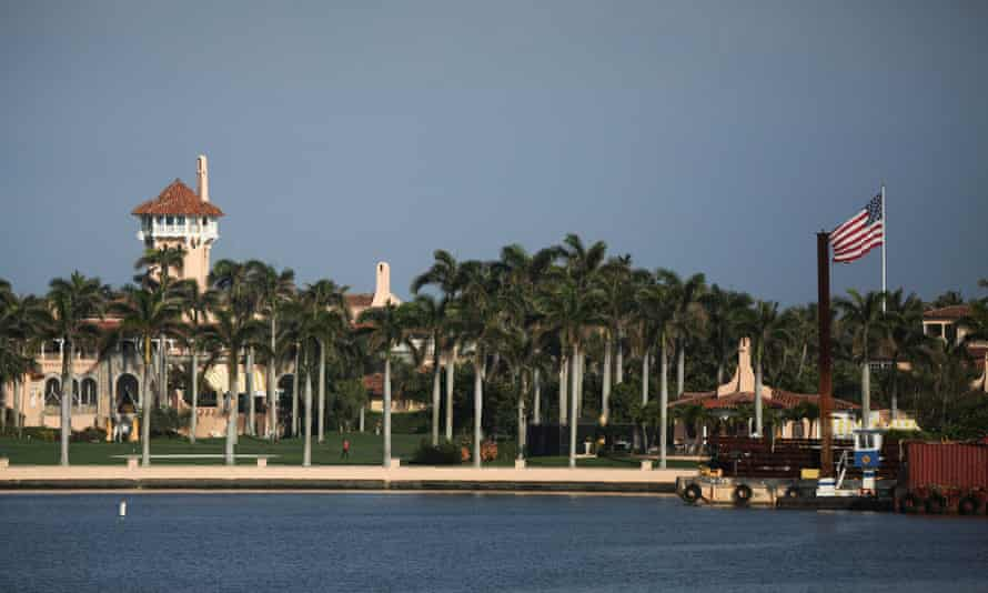 Donald Trump has not left his Mar-a-Lago resort in Palm Beach, Florida, since he flew there on the morning of Joe Biden's inauguration as president.
