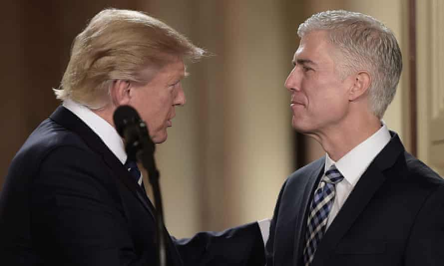 Trumps nomination of Neil Gorsuch would fill a seat left vacant since the death of Justice Antonin Scalia in February 2016.