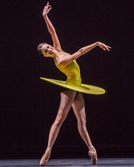 Beatriz Stix-Brunell in William Forsythe's The Vertiginous Thrill of Exactitude for the Royal Ballet.