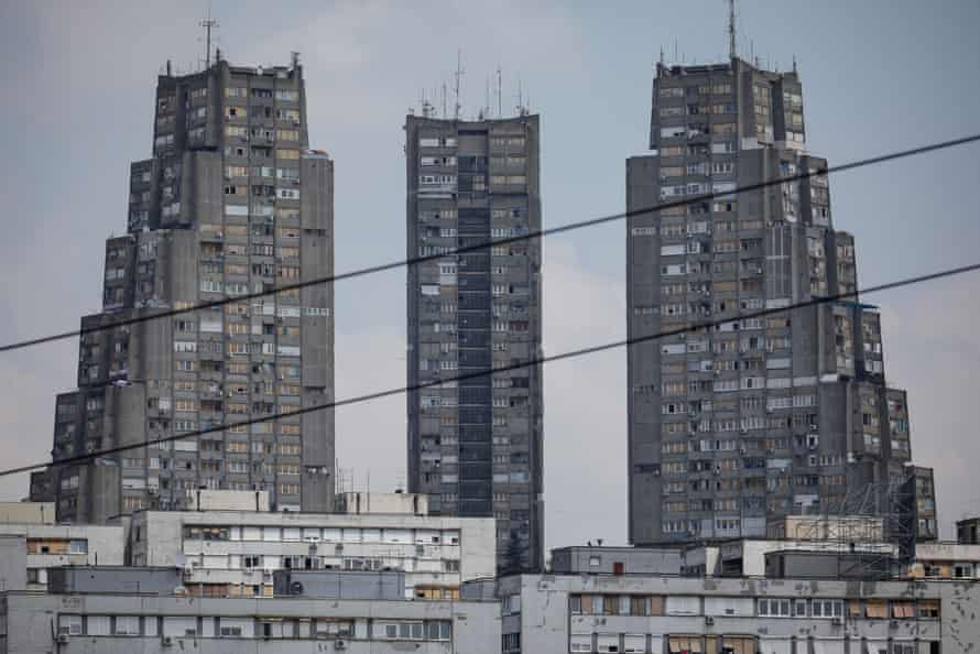 Yugoslavia's brutalist relics in Belgrade.