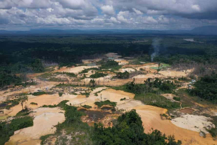 The mining causes deforestation as well as changes to water quality and river structure, say scientists.