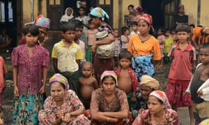 The UN has had a presence in internally displaced persons camps in Myanmar's Rakhine state since 2012.