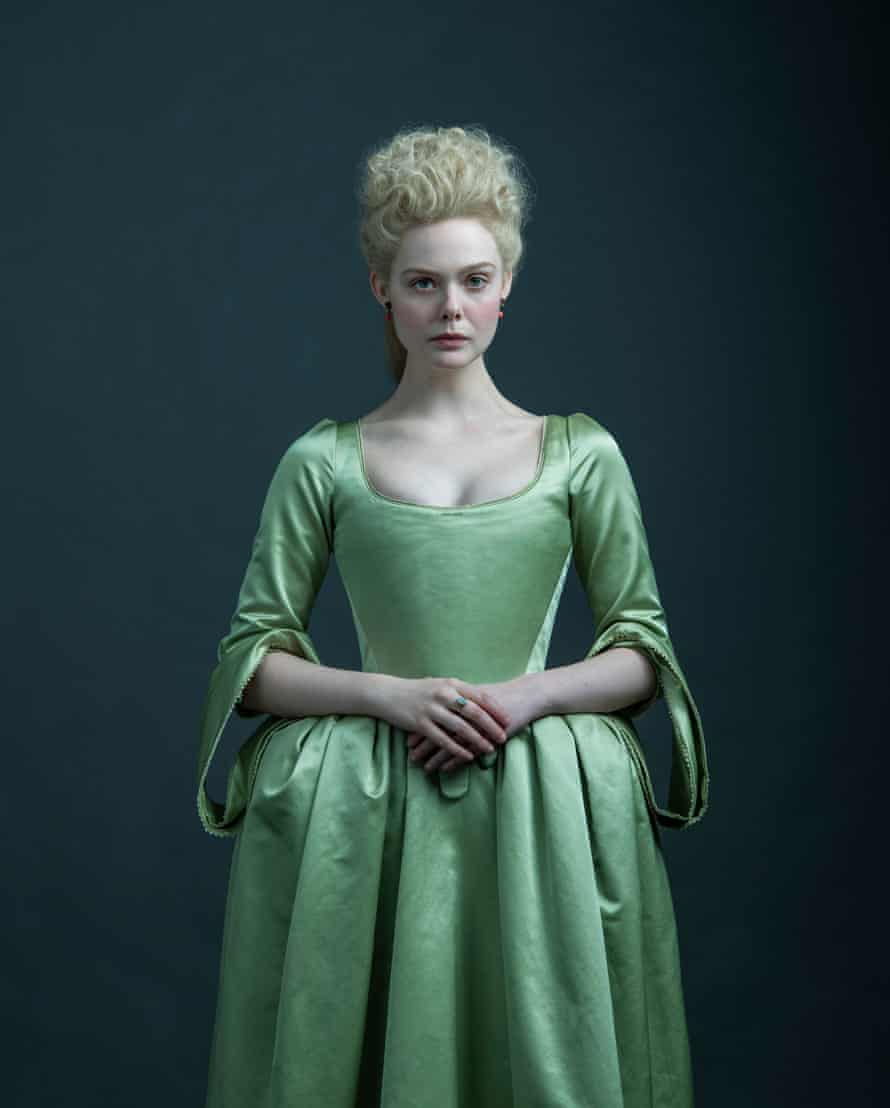 Elle Fanning as Catherine the Great.