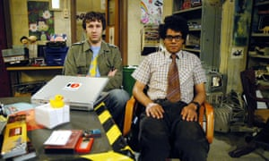 The IT. Crowd: Chris O'Dowd and Richard Ayoade in the Channel 4 original
