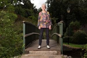 Author Jacqueline Wilson in Hertford.