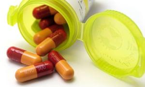 Antibiotics capsules