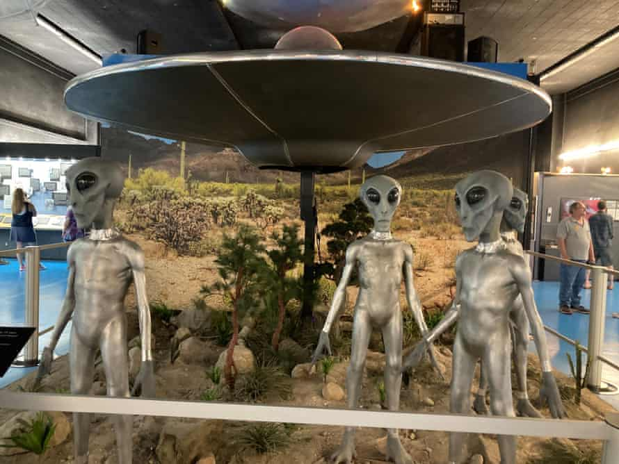 Inside the UFO museum in Roswell, New Mexico, on the eve of the release of a US government report.