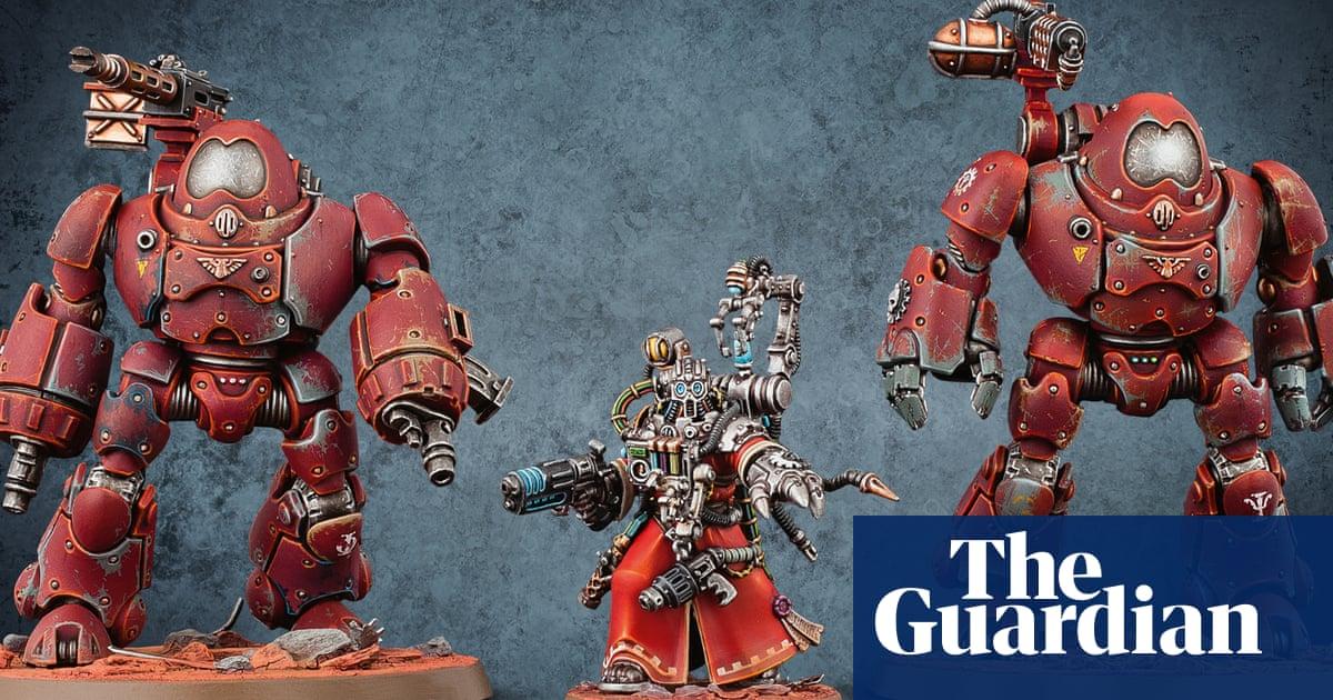 Warhammer TV series in pipeline as Games Workshop sales soar