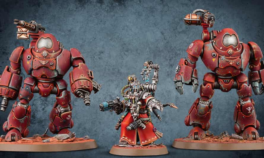 Warhammer figurines