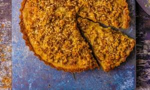 A slice of heaven: coconut tart.