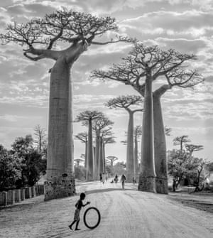 Winner, Places category, Boy with Tyre. Madagascar