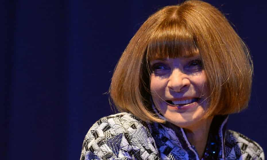 Anna Wintour made her comments on the US talkshow Late Night with Seth Meyers.