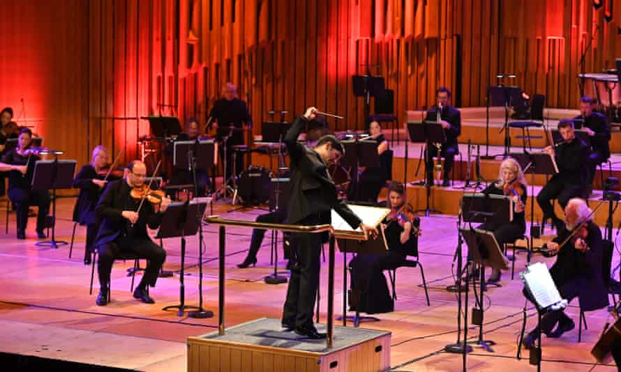 The BBC Symphony Orchestra conducted by Alpesh Chauhan, streamed live from the Barbican Hall on 25 April 2021.