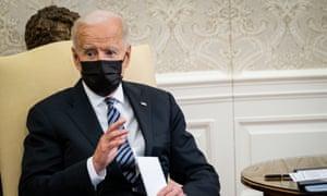 Biden at the White House on Tuesday.