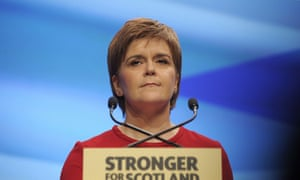 Scotland's First Minister and leader of the Scottish National Party