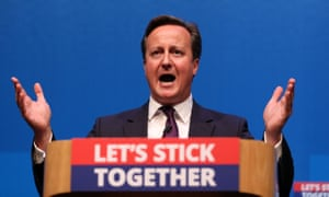 """Prime Minister David Cameron who made a speech in Aberdeen where he spoke for the millions across the UK saying he would be """"utterly heartbroken"""" if Scotland voted to leave the UK"""