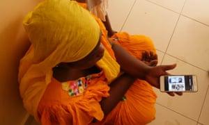 Ngilane Sawo, whose son Baye drowned last Sunday.