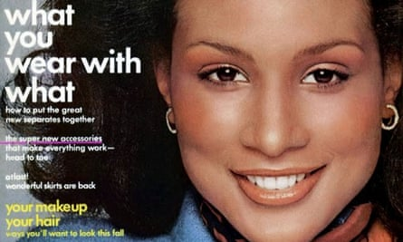 Beverly Johnson was US Vogue's first black cover model, in 1974.