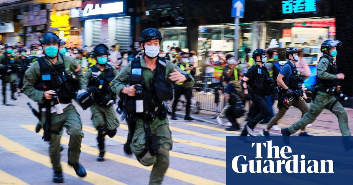 Hong Kong shocked by violent police arrest of 12-year-old girl ...