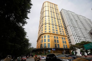 The hotel is considered as the first one in the world to have both the exterior and interior covered in gold