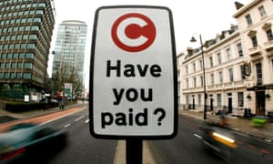 London's congestion charge is administered by Capita