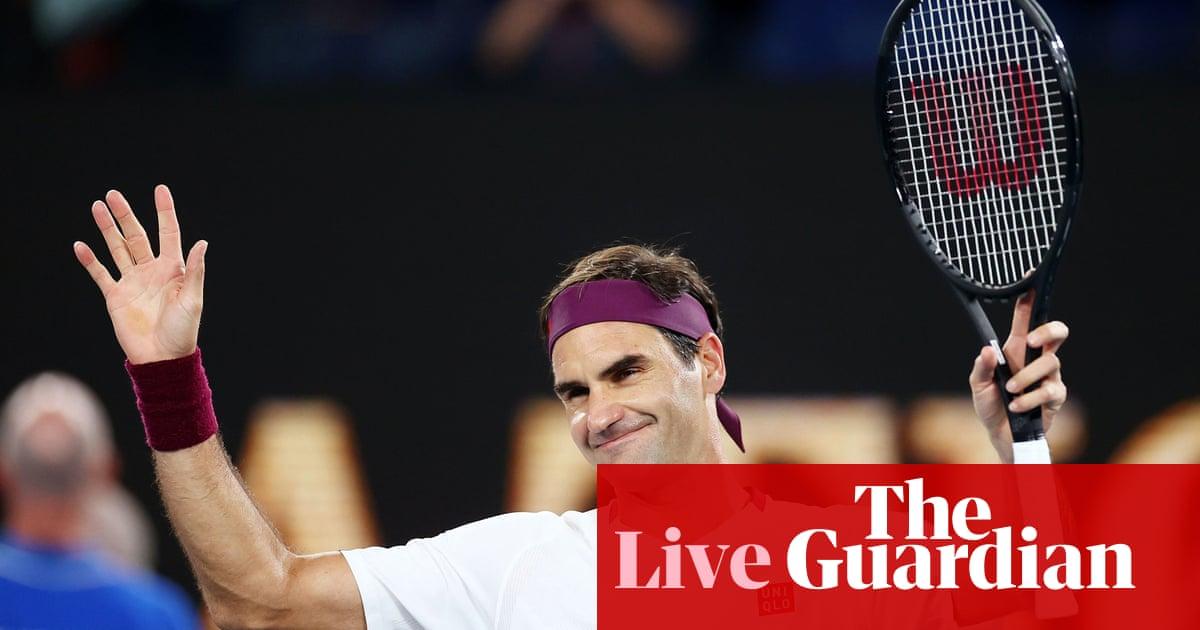 Australian Open: Federer through to last eight, Barty beats Riske – as it happened