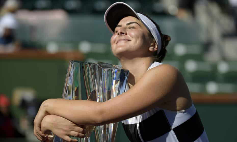 Bianca Andreescu pulled off a shock when she won at Indian Wells earlier this year